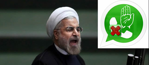 iran whatsapp
