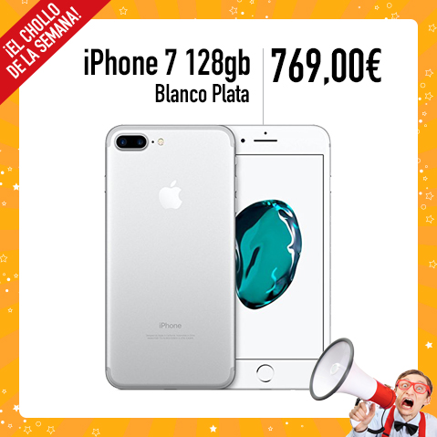 Promocion Abril 2017 - Iphone 7 128gb PLATA