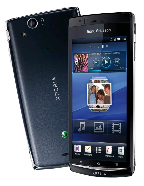 Sony Ericsson Xperia Arc S in the Test