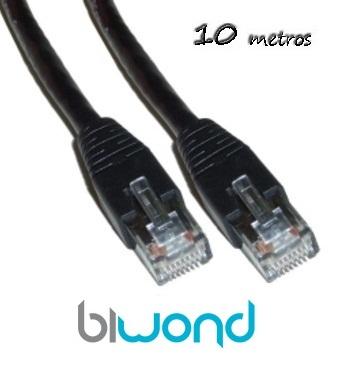 cable ethernet 10m cat 6 biwond informatica cables y. Black Bedroom Furniture Sets. Home Design Ideas