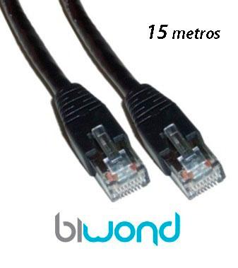 cable ethernet 15m cat 5 biwond informatica cables y. Black Bedroom Furniture Sets. Home Design Ideas