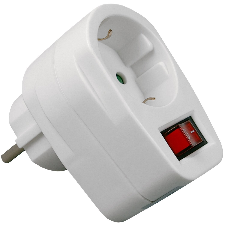 Enchufe con interruptor maxprotect mod ep606 biwond - Enchufe y interruptor ...