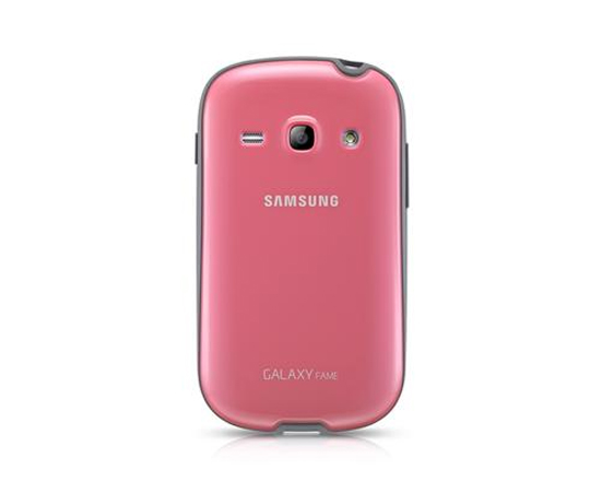 Funda samsung protective cover para galaxy fame s6810 rosa samsung telefon a m vil libre - Comprar funda samsung galaxy s ...