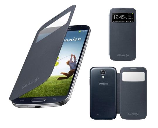 Funda samsung sview cover para galaxy s4 i9505 negra samsung telefon a m vil libre - Comprar funda samsung galaxy s ...
