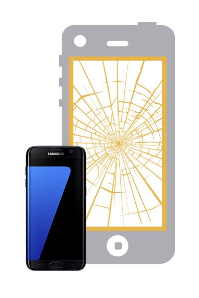 Reparar la pantalla completa del samsung galaxy s7 edge for Reparar pantalla televisor samsung