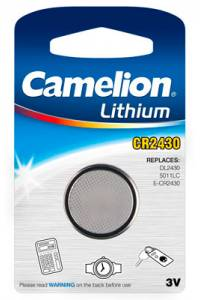 Boton Litio CR2430 3V (1 pcs) Camelion