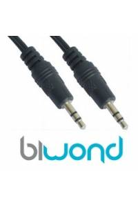Cable Audio Estereo Jack 3.5mm 5m