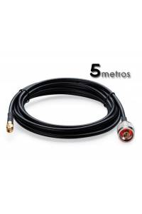 Cable Pigtail N (macho) SMA (hembra) 5M