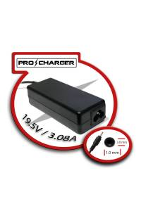 Carg. Ultrabook 19.5V/3.08A 3.0mm x 1.0mm 60w Pro Charger