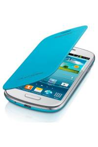 Funda Original Samsung Galaxy S3 mini i8190 azul claro