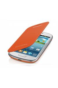FUNDA SAMSUNG FLIP COVER GALAXY SIII MINI I8190 NARANJA