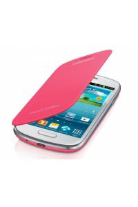 FUNDA SAMSUNG FLIP COVER GALAXY SIII MINI I8190 ROSA