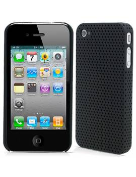 Fundas Rigida Perforada iPhone 4S y 4