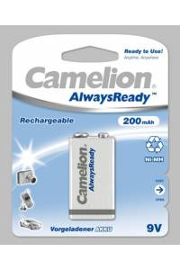 "Recargable ""Always Ready"" 9V 200mAh (1 pcs) Camelion"