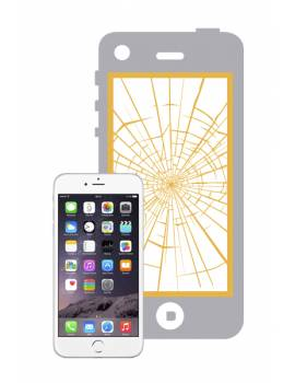 "Reparar La Pantalla Completa del ""iPhone 6 Plus Blanco"""